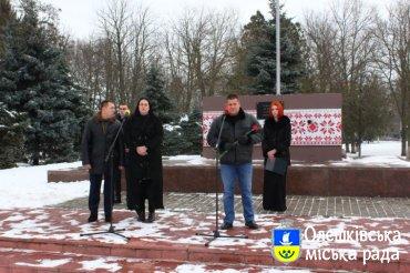 Вшанування пам'яті 100-річчя бою під Крутами в Олешках
